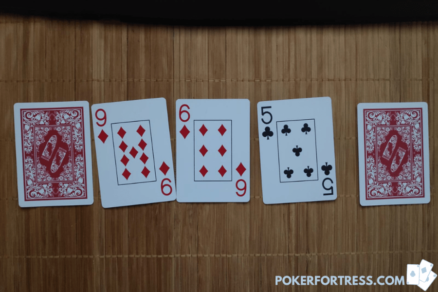 5 card stud 1-3-1 poker