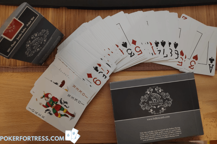 high quality deck of poker cards