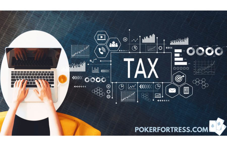 paying taxes in poker