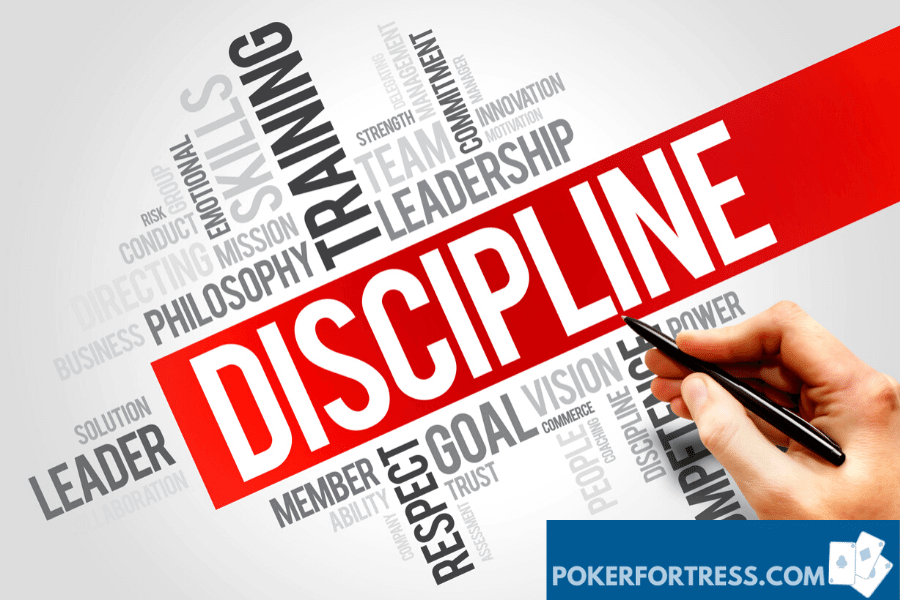 discipline in poker