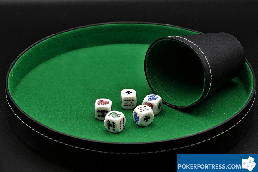 poker with dice vs poker without dice