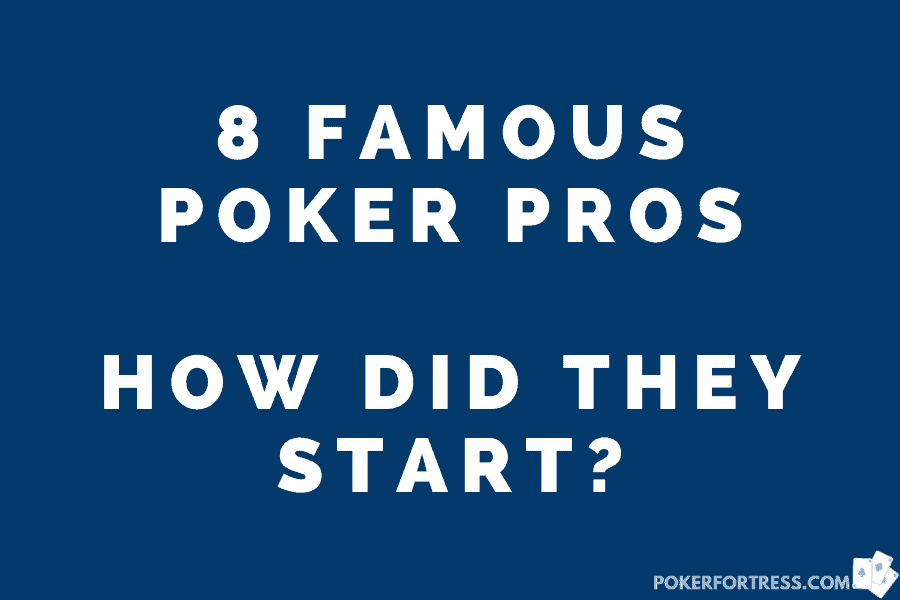 how did poker players start