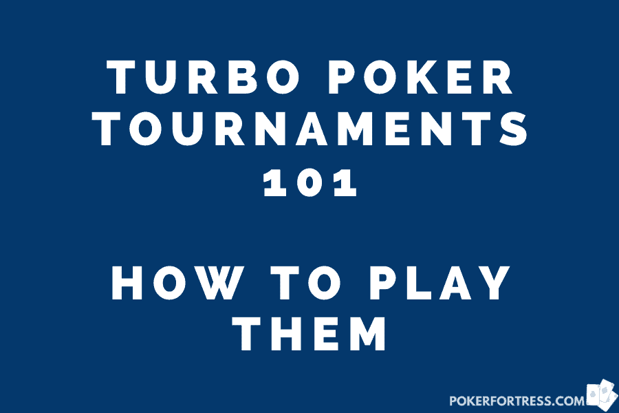 how turbo poker tournaments work