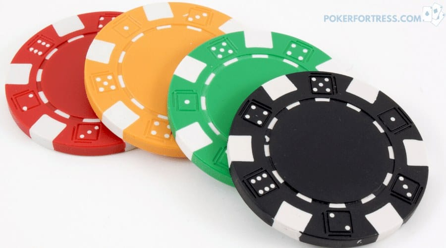 Clay composite poker chips aren't magnetic.