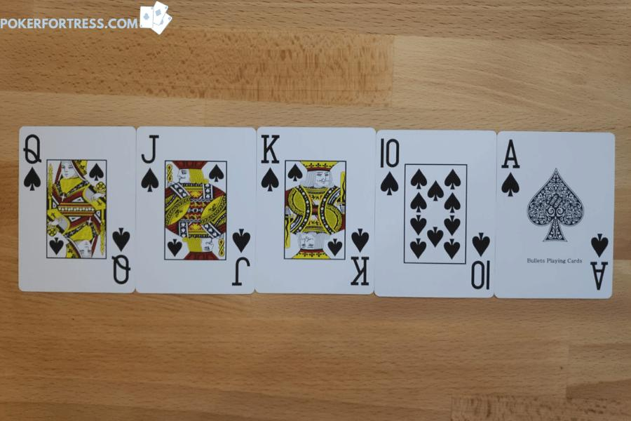 royal flush on the board is an example of nuts on the board