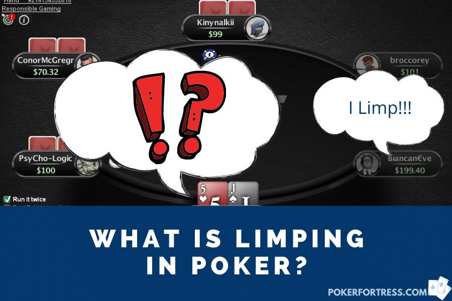 limping in poker example