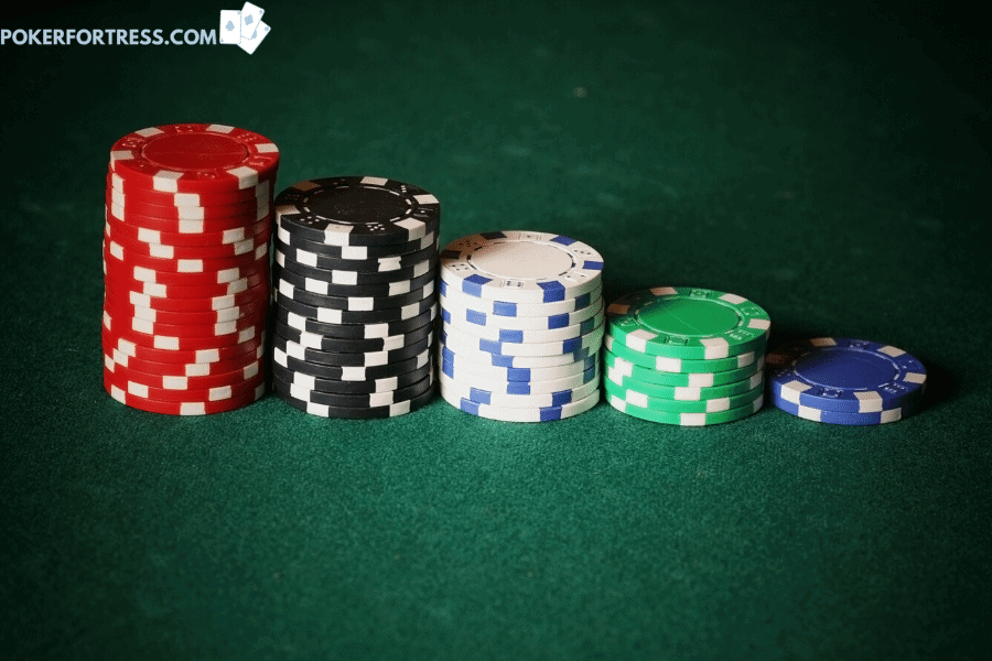 Are poker chips worth real money?