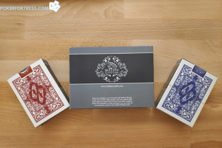 2 decks of cards in one package