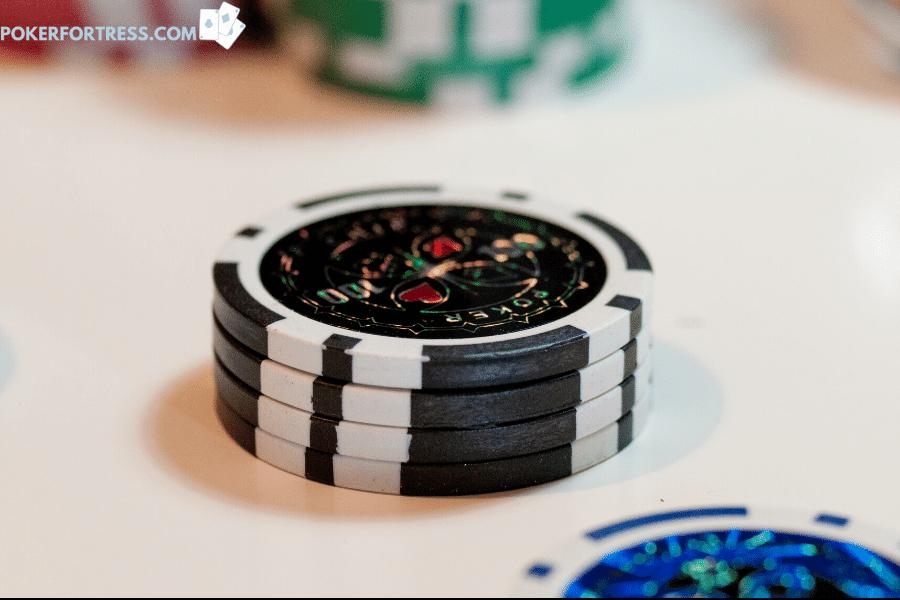 Clay poker chips vs. composite clay poker chips.