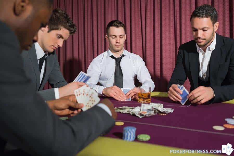 Gambling and getting rich in poker.