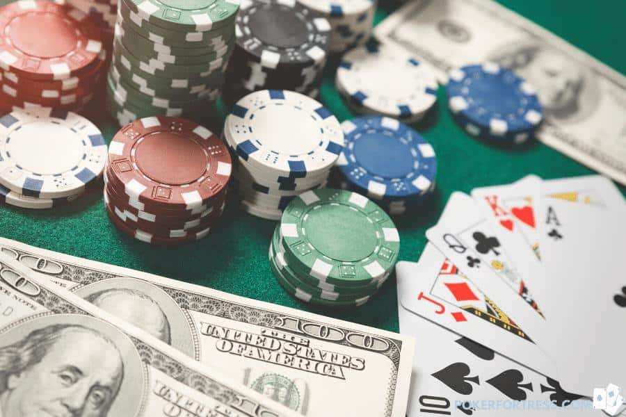 Using casino chips for P2P transactions is quite common.