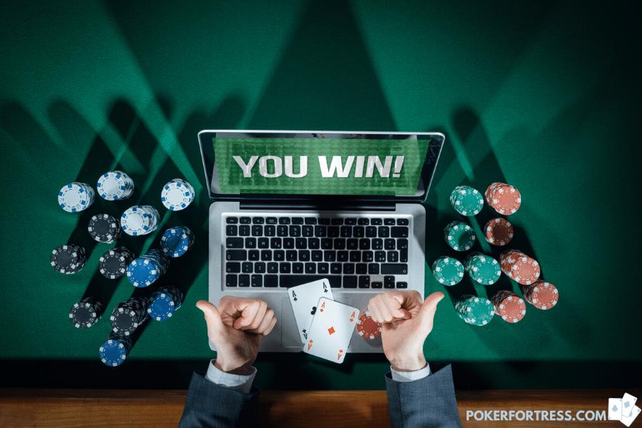 getting rich from winning a poker tournament online