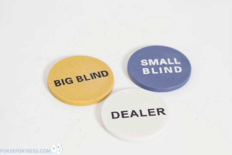 Dealer button should be rotated clockwise after every hand.