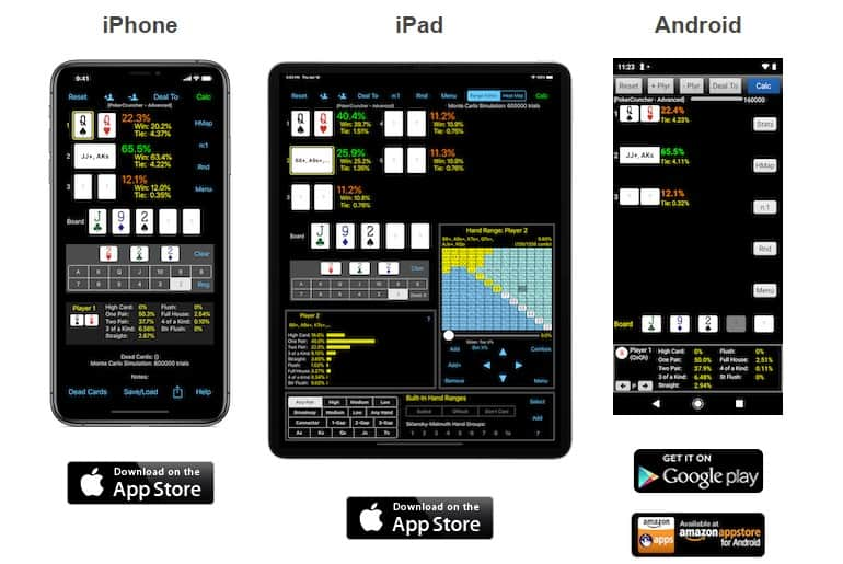 PokerCruncher mobile app elevates your game to another level.