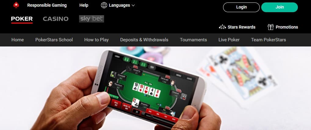 PokerStars real money mobile app is perfect to earn some quick money in poker.