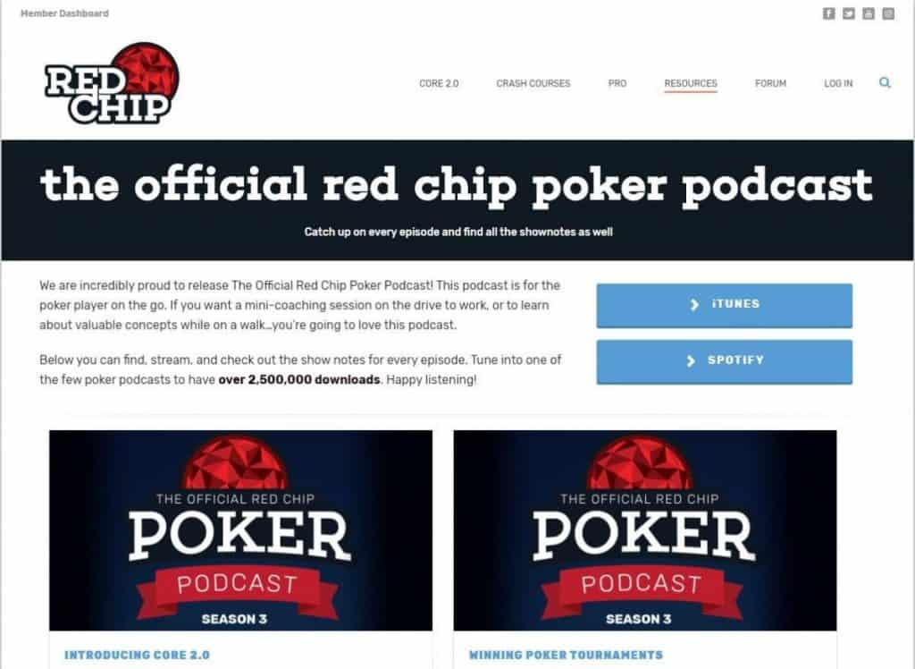 Red Chip Poker podcast