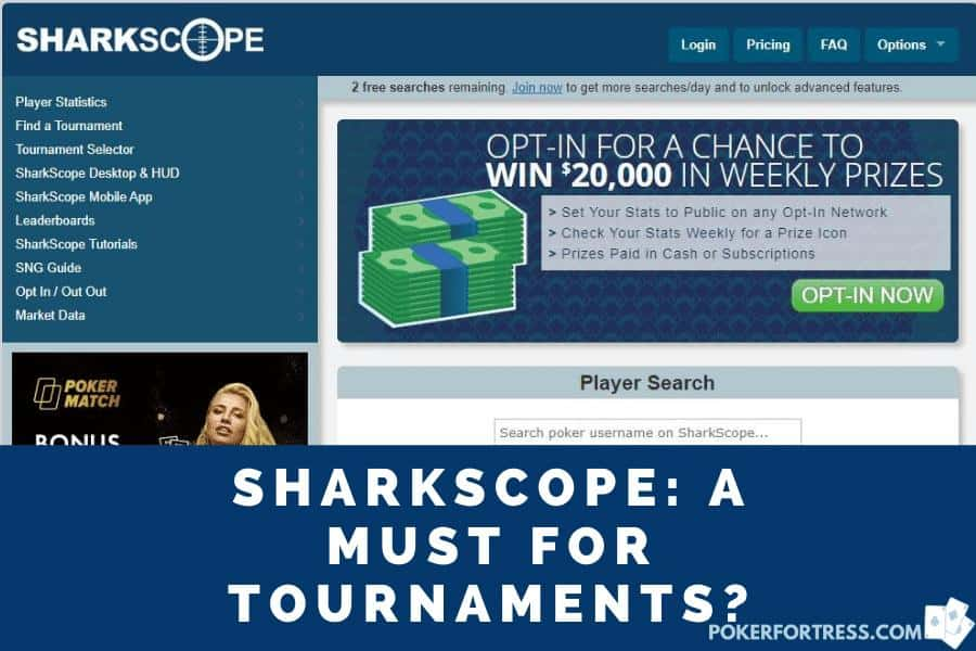 sharkscope review and expert guide