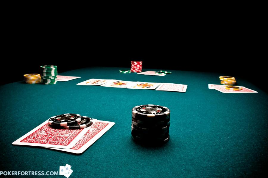 Why is it good to cap (put poker chips on) your hand (cards).