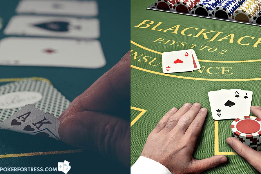 odds to win at blackjack are better than at poker, but only shortterm.
