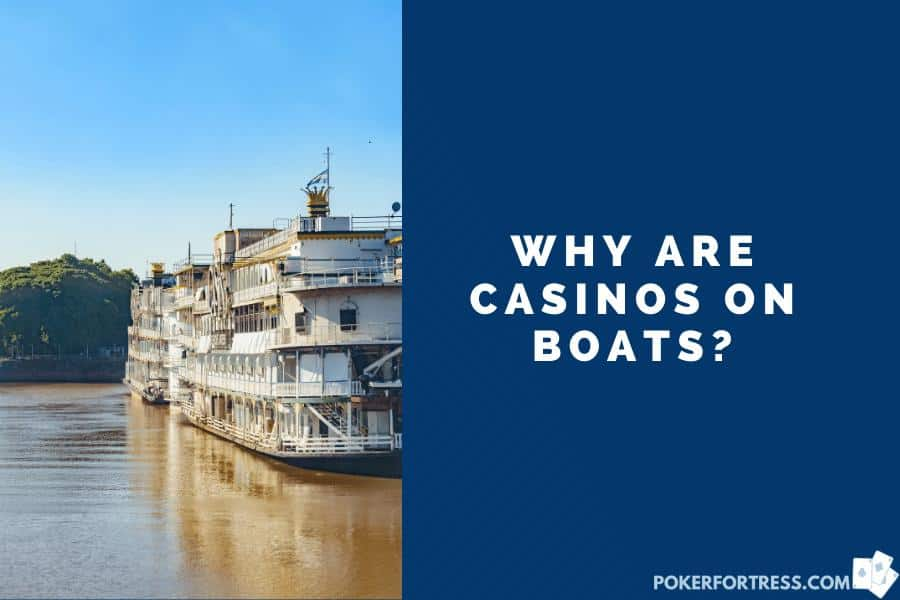 casinos are on boats because the land laws can't prohibit their existence