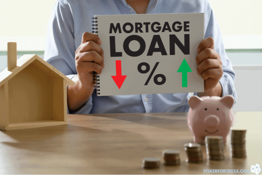 it is hard to get a mortgage as a poker player